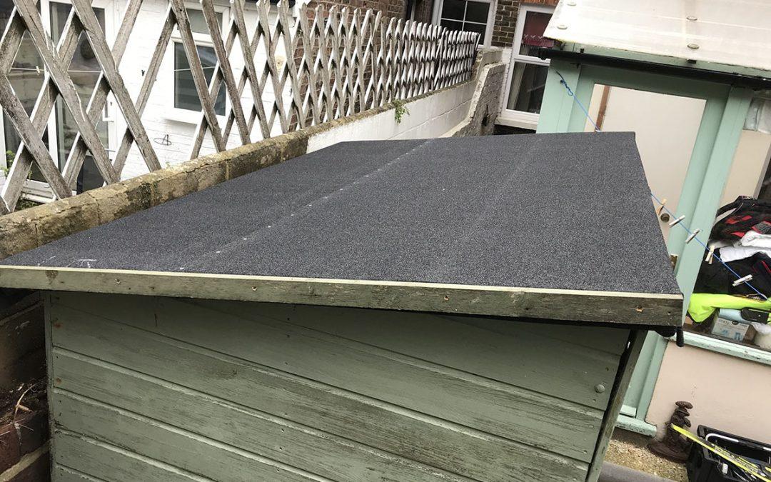 New Shed Roof South Coast Handyman